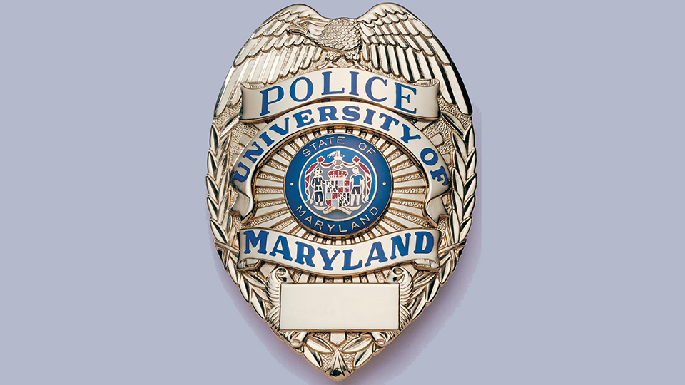 UMB Police Force badge