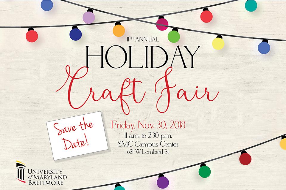 UMB Craft Fair: Nov. 30