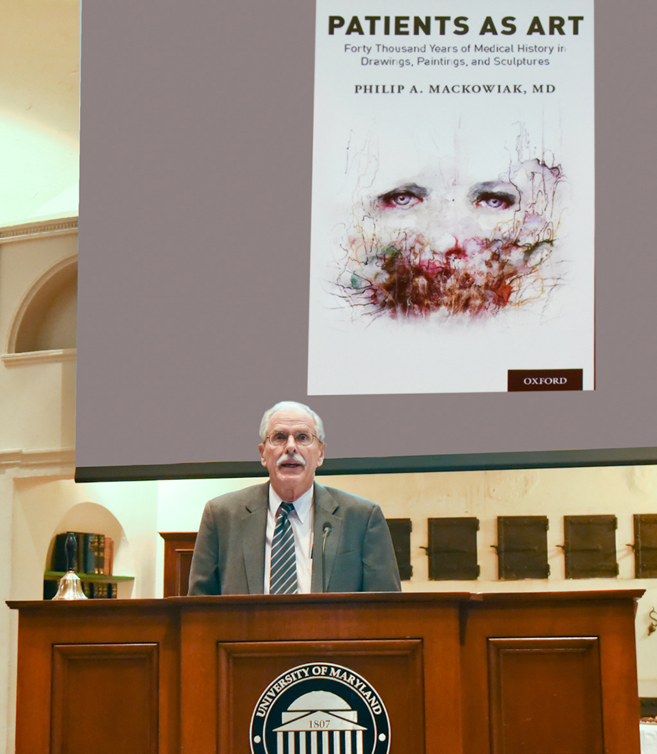 Dr. Mackowiak discusses his new book