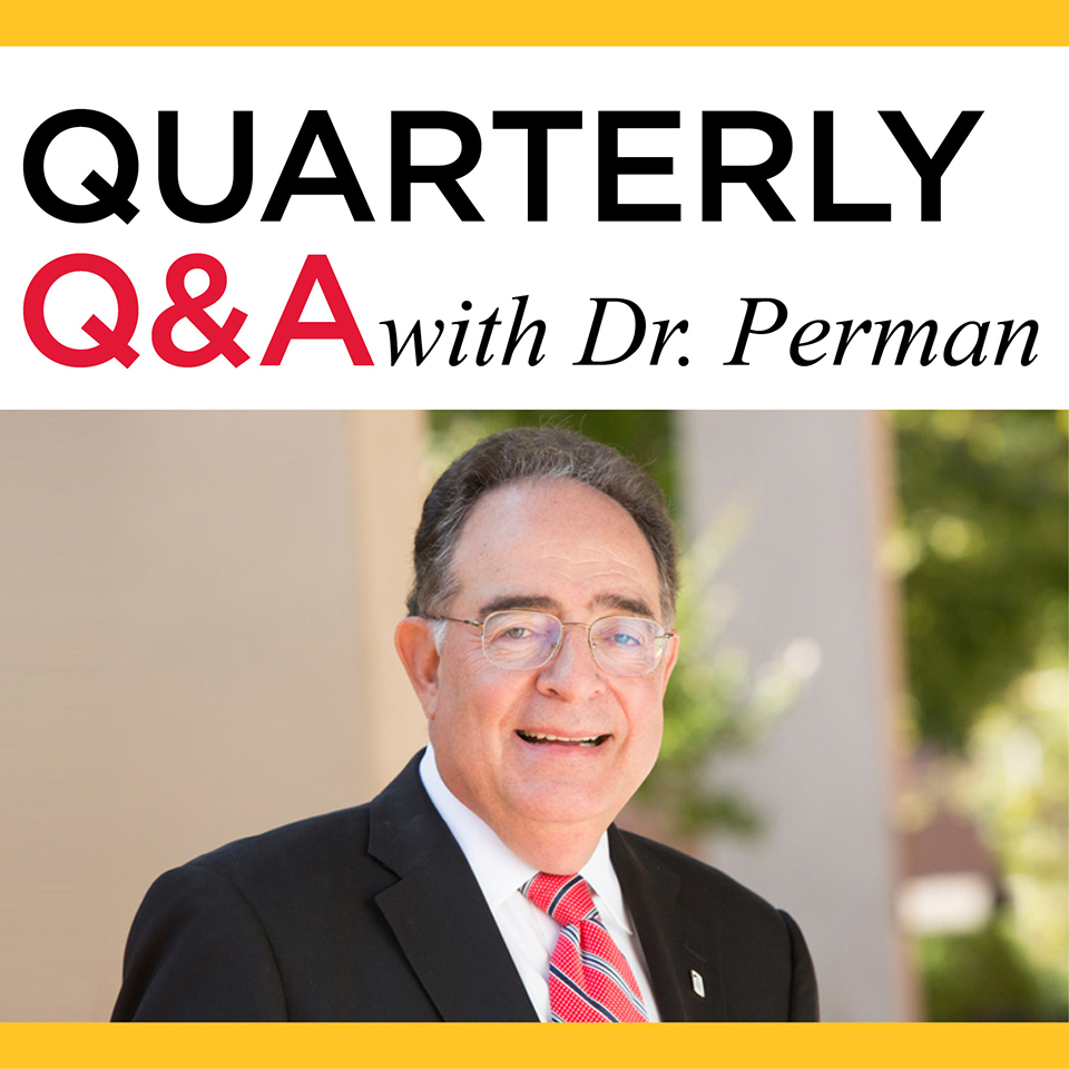Quarterly Q&A with Dr. Perman