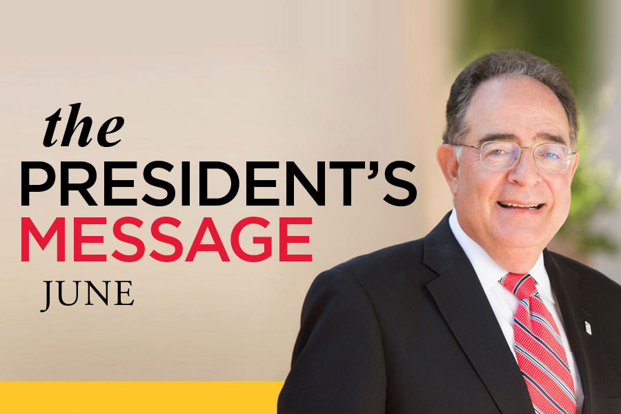 The President's Message-June