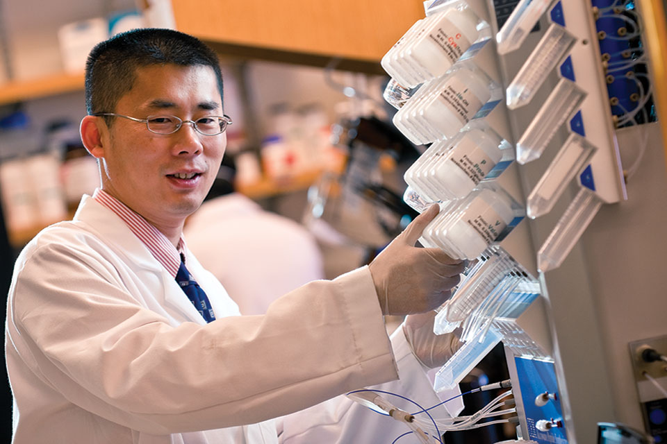 Bruce Yu, PhD, of the University of Maryland School of Pharmacy