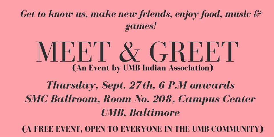 Meet and Greet 2018