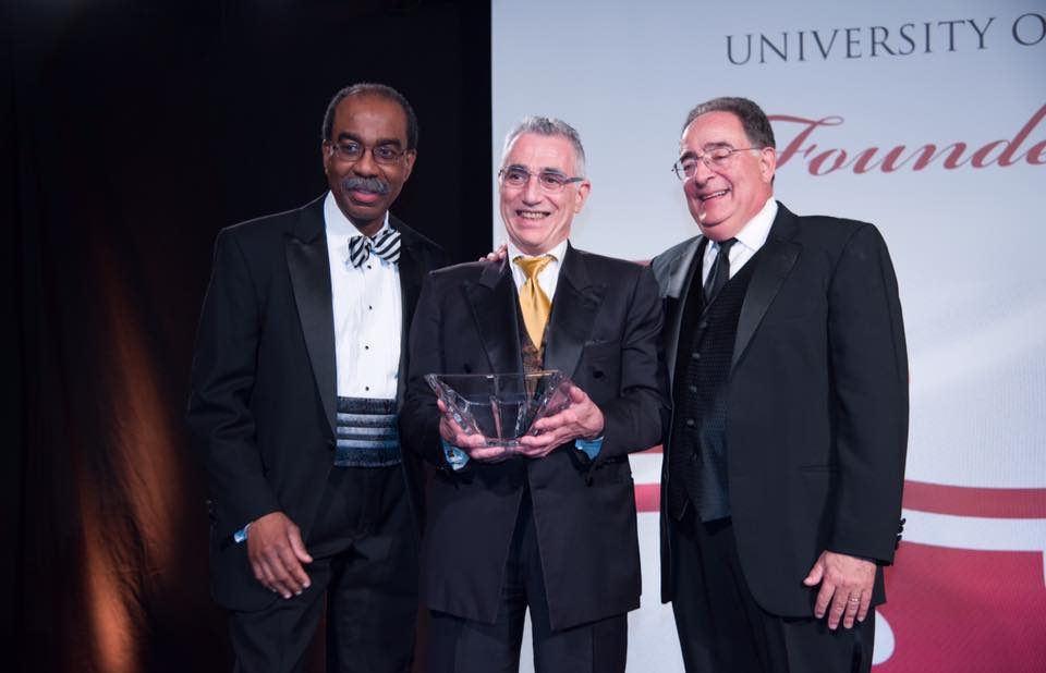 Dean Reece and Dr. Perman with Dr. Thomas Scalea
