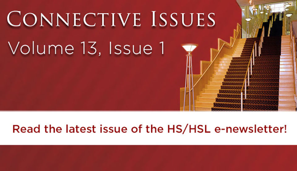 Connective Issues, Volume 13, Issue 1